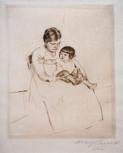 Mary Cassatt, 'The Stocking', ca. 1890