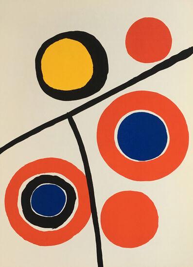 Alexander Calder, 'Alexander Calder Derrière le Miroir lithograph ', 1973