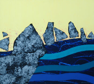 LUKSA PEKO, 'Between the Waves II', 2010