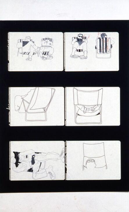 Antoni Miralda, 'Cuaderno Castillejos #9', 1965