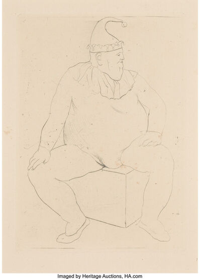 Pablo Picasso, 'Saltimbanque au Repos (The Acrobat at rest)', 1905