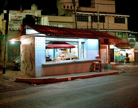 Jim Dow, 'Taco Stand on Main Avenue at Night, Independencia, Mexico State, Mexico', 2005