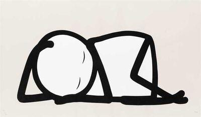 Stik, 'Sleeping Baby (Nude Printers Proof)', 2015