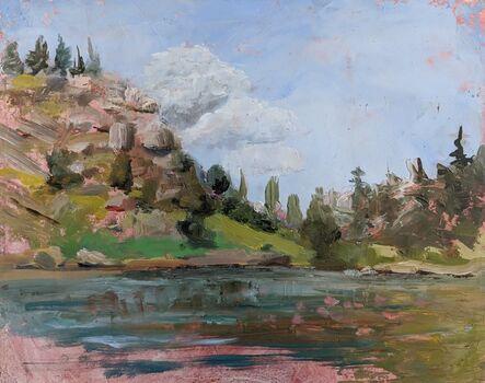 Caitlin Hurd, 'Day at the Lake', 2017