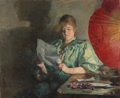 Harriet Backer, 'Evening, Interior', 1890