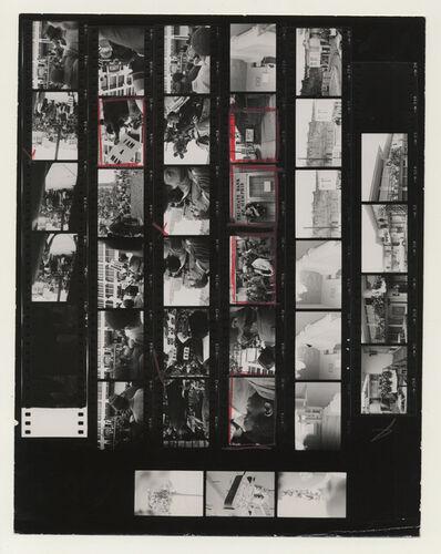 Gordon Parks, 'Contact Sheet, Memphis, Tennessee', 1968