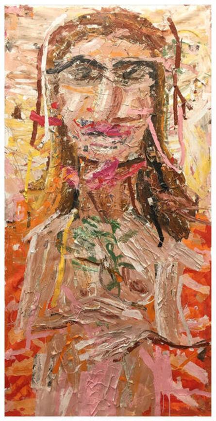 Gerald Davis, 'Untitled Nude (Tangerine', 2017
