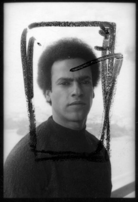 "Elizabeth Lennard, '""Huey Newton, Black Panther""', 1972"