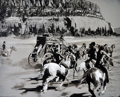 Gordon McConnell, 'Indian Relay'