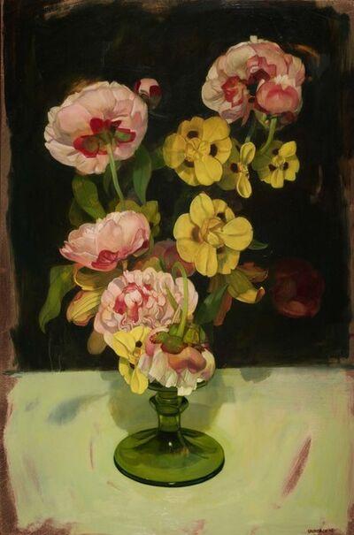 Benjamin J. Shamback, 'Peonies and African Irises', 2015