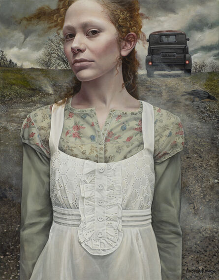 Andrea Kowch, 'Gust - 1st Limited Edition Framed Hand Signed Print', 2019