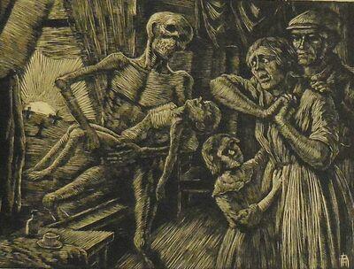 "Albert Abramovitz, '""Rickets""', 1935-1943"