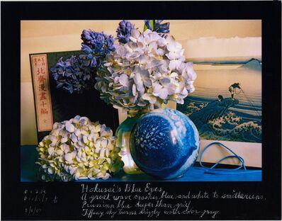 Duane Michals, 'Hokusai's Blue Eyes', 2007