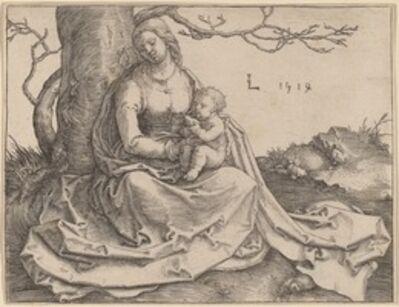Lucas van Leyden, 'The Virgin Seated under a Tree', 1514