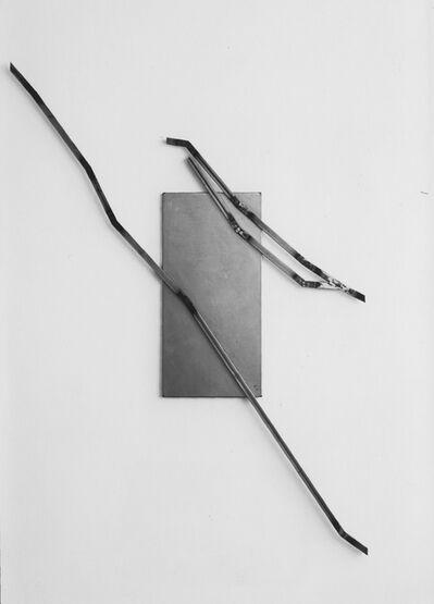 Josef Dabernig, 'Serie A.B.,F. Relief 19', 1987