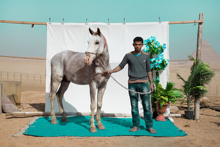 Bryony Dunne, 'Mohamed with Habesha, from the series Edge of Giza', 2016