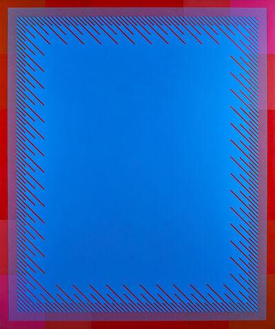Richard Anuszkiewicz, 'Soft Blue', 1974
