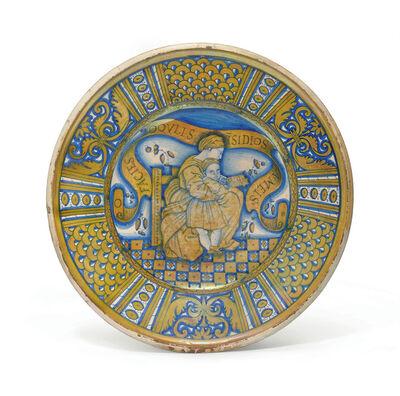 'A Deruta Maiolica Gold-Lustre Charger', ca. 1530-1550