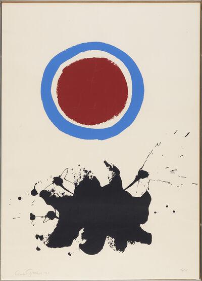 Adolph Gottlieb, 'Blue Halo', 1967