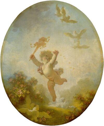 Jean-Honoré Fragonard, 'Love as Folly', ca. 1773/1776