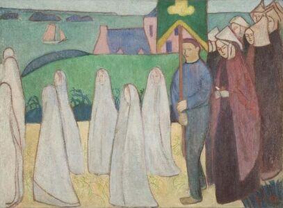 Émile Bernard, 'Confirmand's Procession', 1891