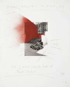 David Ireland, 'Untitled (Portion of Scheme #1 M.O.C.A. L.A.)', 1988