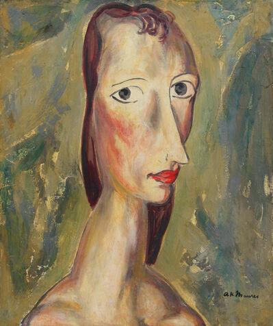 Alfred H. Maurer, 'Girl', 1926-1927