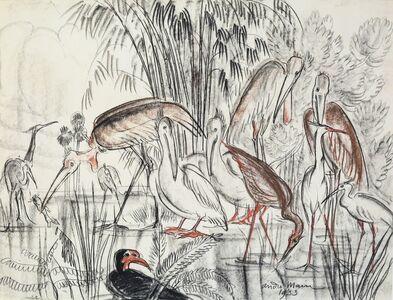 André Maire, 'Birds', 1953
