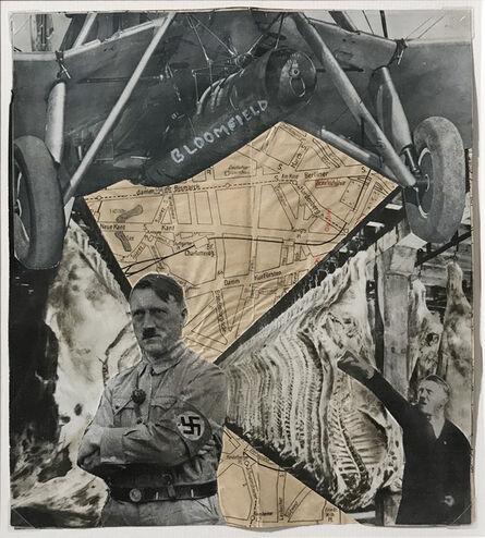 Erwin Blumenfeld, 'Bloomfield vs. Hitler', 1932-1933