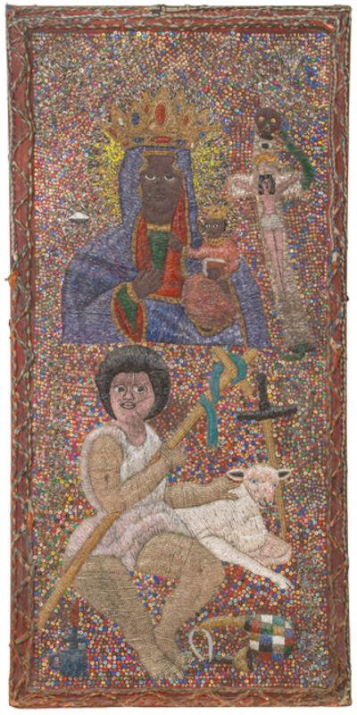 """Lhérisson Dubréus, 'Temple Altrarpiece """"Tibout Ceus St Louis Léogâne""""'"""