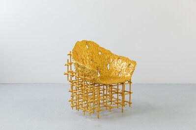 Chris Schanck, 'Shell Chair: Red Gold', 2019