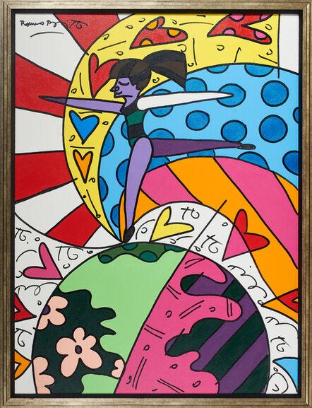 Romero Britto, 'On Top of the World', 2003