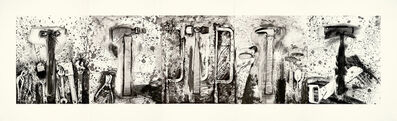 Jim Dine, 'The Five Hammer Etudes', 2007