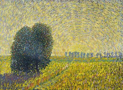 Alexander Kanoldt, 'Sonnenuntergang', 1907