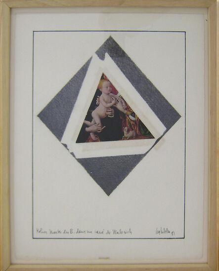 Lea Lublin, 'Kolner master dens le carré de Malévitch', 1981
