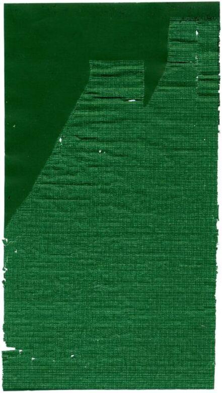 Allyson Strafella, 'green escarpment a', 2007