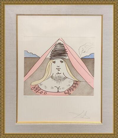 Salvador Dalí, 'THE LADY DULCINEA', 1981