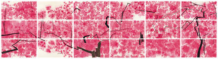 Wang Gongyi, 'Peach Blossom (set of 18)', 2016