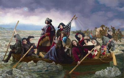 E2 - KLEINVELD & JULIEN, 'Ode to Leutze's Washington Crossing the Delaware', 2016