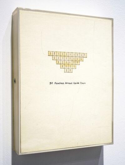 Roberta Allen, '30 Pointless Arrows Upside Down', 1972