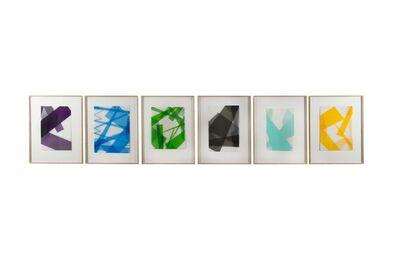 Beat Zoderer, 'Transparente Faltungen I-VI', 2003