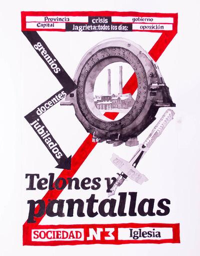 Manuel Molina, 'Pantallas (Screens)', 2018