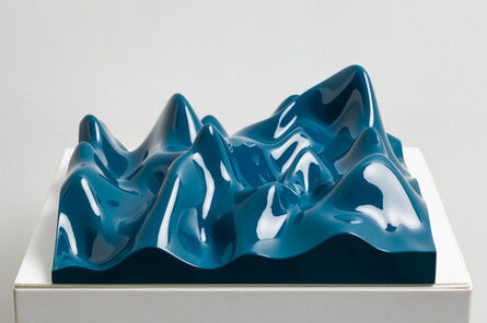 Peter Saville, 'Unknown Pleasure, Ocean Blue', 2012