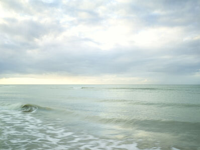 Donald Weber, 'Omaha Beach - May 3, 2015, 8:48pm. 13ºC, 76% RELH, Wind SSW, 9 Knots. VIS: Good, Clear', 2015