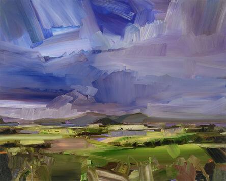 Simon Andrew, 'Sun Strike Summer Landscape', 2020