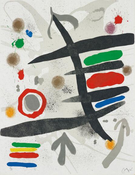 Joan Miró, 'Les Perseides: one plate', 1970