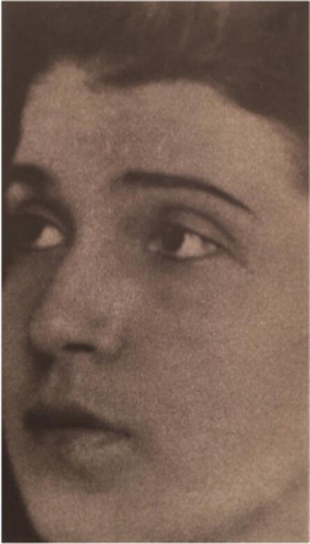 Edward Weston, 'Portrait of Tina Modotti', 1921