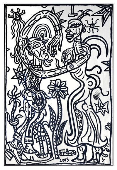 Robert Combas, 'Entourez votre Cavalier avec vos Bras Démesurés', 2005