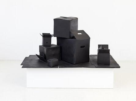 João Maria Gusmão & Pedro Paiva, 'Box outside boxes', 2015