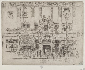 Joseph Pennell, 'The Institute, Piccadilly', 1906